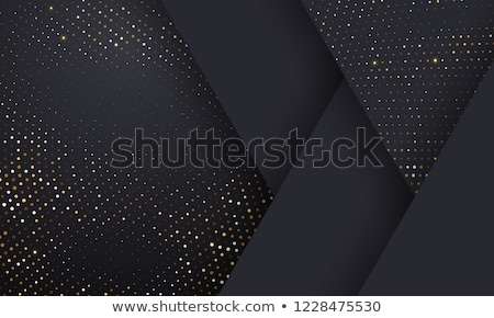 silver halftone frame stock photo © arenacreative