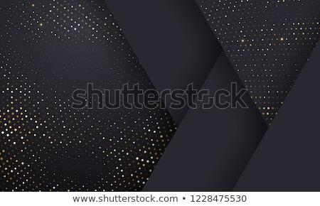 Silver Halftone frame Stock photo © ArenaCreative
