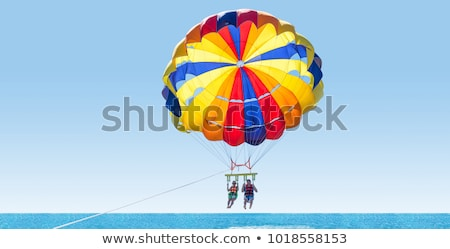 Griekenland parachute Grieks vlag euro Stockfoto © creisinger