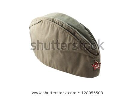 Soviet Army cap Stock photo © ddvs71
