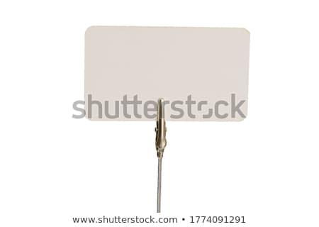 Caimán clip cables aislado blanco Foto stock © posterize
