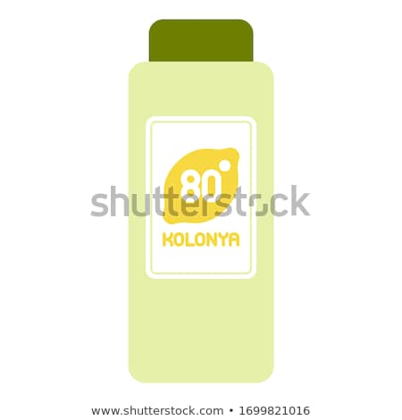 Fles stilleven parfum grijs mode Stockfoto © Fisher