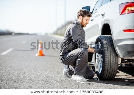 Road-side worker Stock photo © photography33