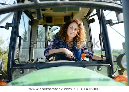 farmer driving tractor stock photo © photography33