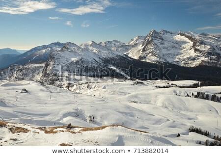 Rolle pass from Castellazzo mount Stock photo © Antonio-S