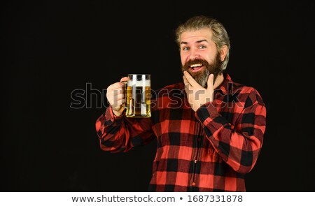 man having a beer stock photo © photography33