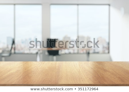 empty office desk stock photo © razvanphotography