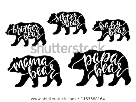 Stock photo: Mama Polar Bear