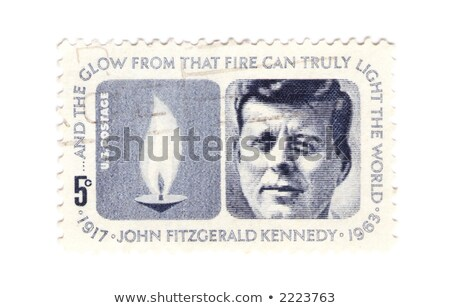 jfk postage stamp stock photo © sirylok