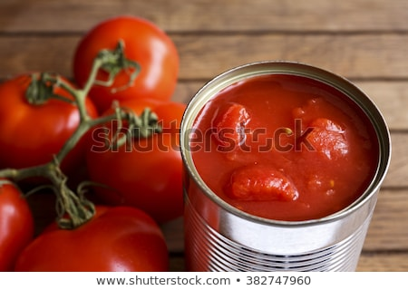 Tinned Tomatoes Stock photo © kitch