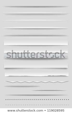 Set Of Dividers Stock photo © cammep