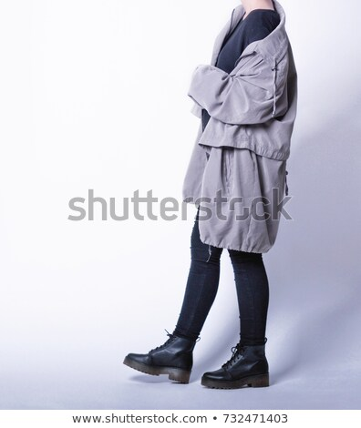 Woman wearing a parka Stock photo © photography33