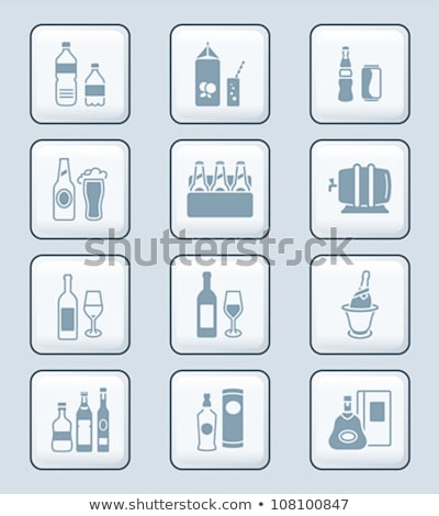 Drink bottles icons | TECH series Stock photo © sahua