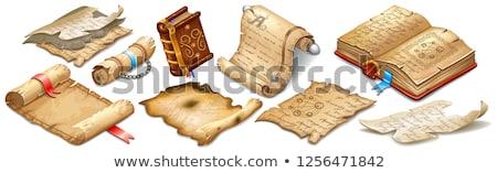 anciens · manuscrit · vecteur · vieux · fond - photo stock © fixer00