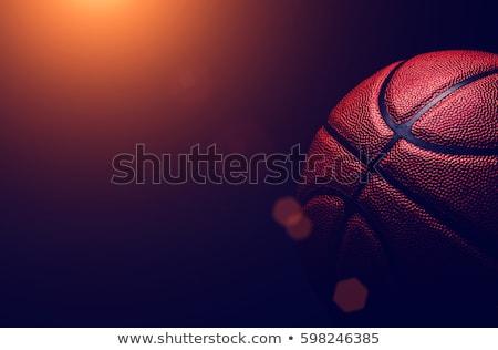 バスケットボール マクロ 画像 テクスチャ フォーカス スポーツ ストックフォト © sumners