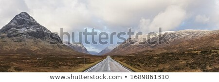 Glencoe in Autumn, Scotland, UK Stock photo © Julietphotography