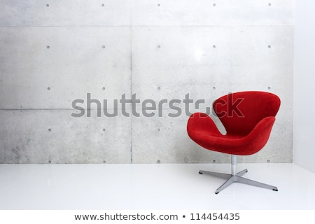 modern red Chair Stock photo © vichie81