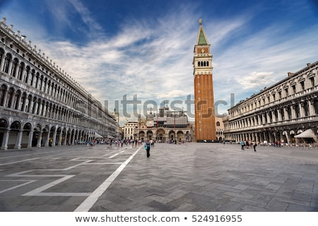 bell tower at san marco square in venice stock photo © andreykr