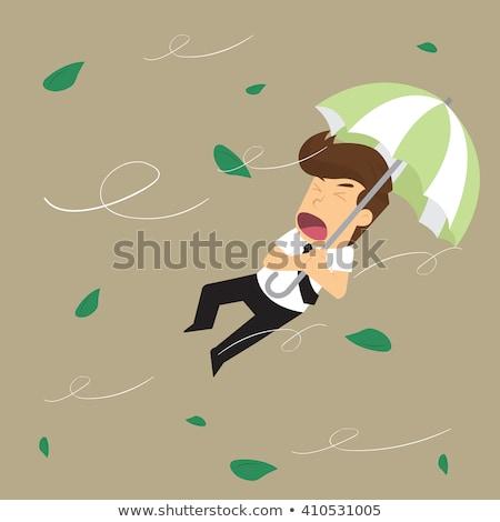 безработный · бизнесмен · отчаянный · грязный · банкротство · финансовый · кризис - Сток-фото © vlad_star