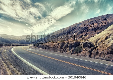 Stock photo: Road in northern Argentina