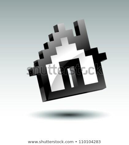 3D · casa · negócio · computador · multidão · tecnologia - foto stock © 4designersart