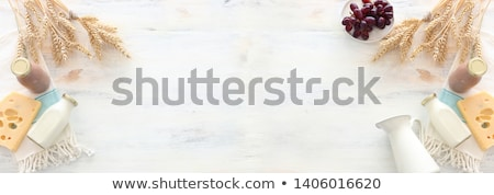 geïsoleerd · witte · vers · room · concept - stockfoto © m-studio