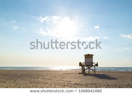 ライフガード 塔 青空 ビーチ 海 旅行 ストックフォト © Tatik22