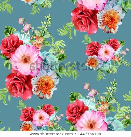 çiçekler bulanık çiçek yaz yeşil Stok fotoğraf © przemekklos