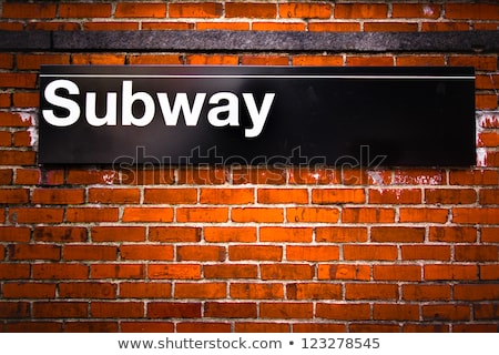NYC Subway Sign Stock photo © ArenaCreative