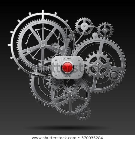 ホイール · ベクトル · アイコン · ボタン · 技術 - ストックフォト © vipervxw