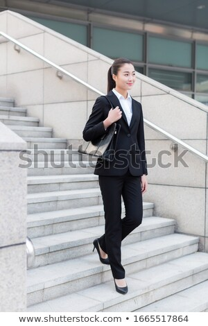 Female With Briefcase Stock fotó © wxin