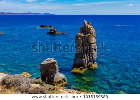 San Pietro island - Le Colonne Stock photo © Antonio-S