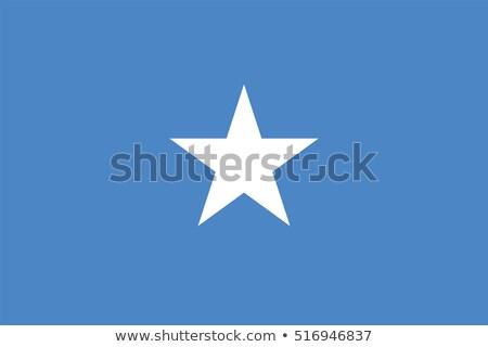 Banderą Somali wiatr Zdjęcia stock © creisinger