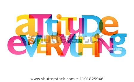 Houding namaak woordenboek definitie woord informatie Stockfoto © devon