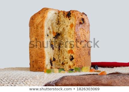 おいしい 白パン 木製 デッキ 孤立した ストックフォト © tetkoren