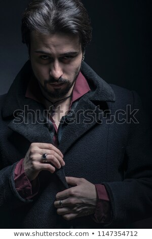 Dark Sinister Man Stock photo © keeweeboy