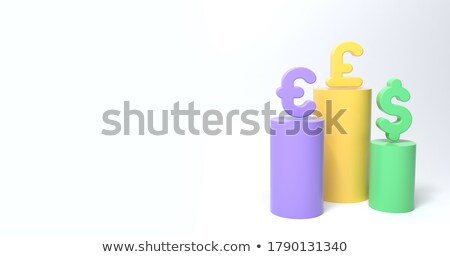 Currency Podium Stock photo © idesign