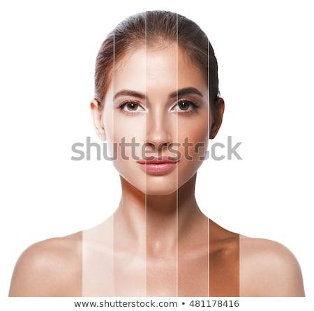 Beauty face teenage girl cosmetics skin care  Stock photo © CandyboxPhoto