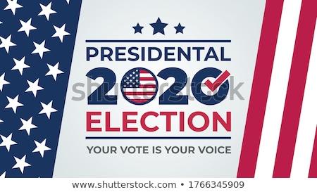 Foto stock: American Republican Vote