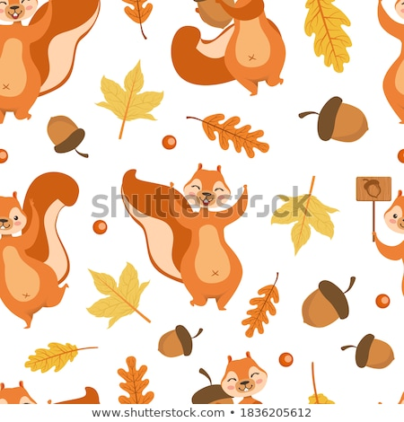 Holiday Squirrel Sign Stock photo © Lightsource