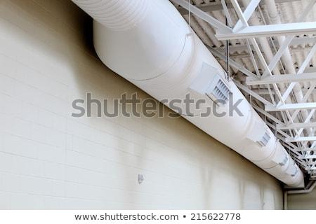 leren · airconditioning · reparatie · student · ervaren - stockfoto © lisafx