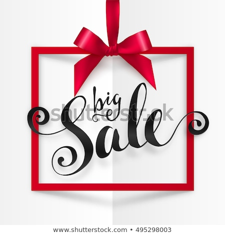 big gift box icons on white background vector illustration stock photo © tkacchuk