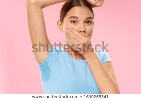 Stock photo: sweating girl