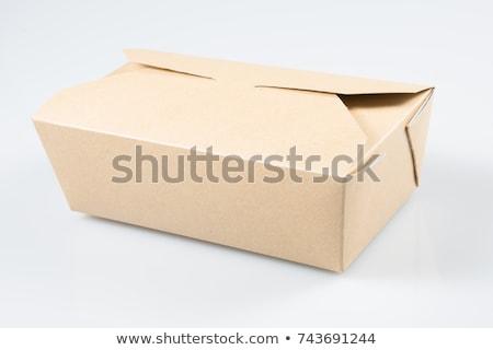 Empty takeout food box  Stock photo © Elisanth