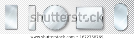 косметических зеркало копия пространства белый моде фон Сток-фото © williv