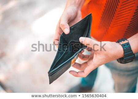 Businessperson With Empty Wallet Stock photo © AndreyPopov