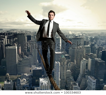 Businessman walking in equilibrium  Stock photo © wavebreak_media