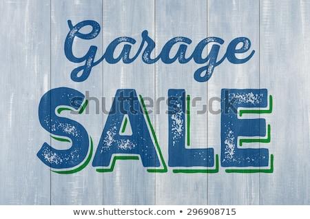 гаража · продажи · поддельный · газета - Сток-фото © zerbor