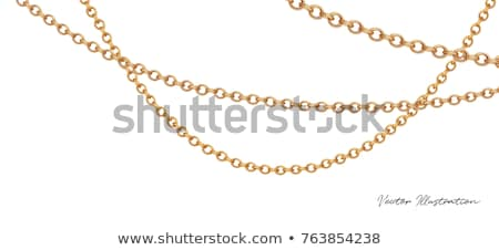 Gold chain with pendant Stock photo © vtls