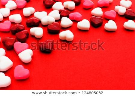 красный · розовый · сердцах · можете · используемый - Сток-фото © jaffarali